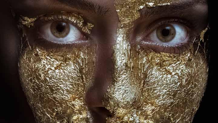 maquillaje-dorado